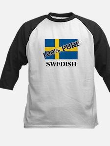 100 Percent SWEDISH Kids Baseball Jersey