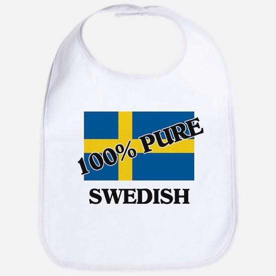 100 Percent SWEDISH Bib