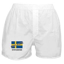 100 Percent SWEDISH Boxer Shorts