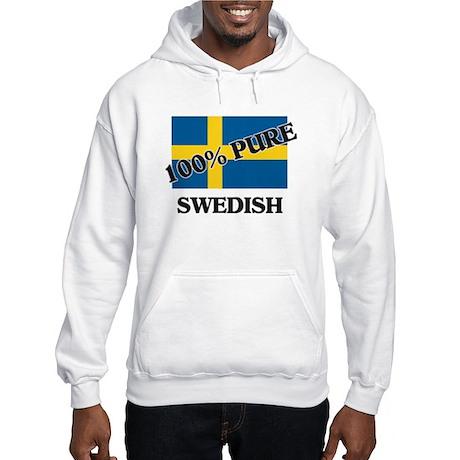 100 Percent SWEDISH Hooded Sweatshirt