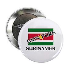 "100 Percent SURINAMER 2.25"" Button (10 pack)"
