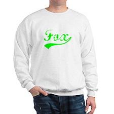 Vintage Fox (Green) Sweatshirt