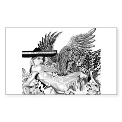 Mi Cultura Rectangle Sticker 50 pk)