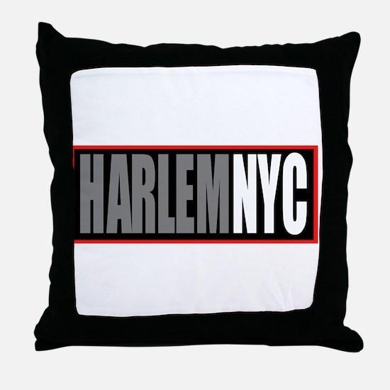 Unique Harlem Throw Pillow