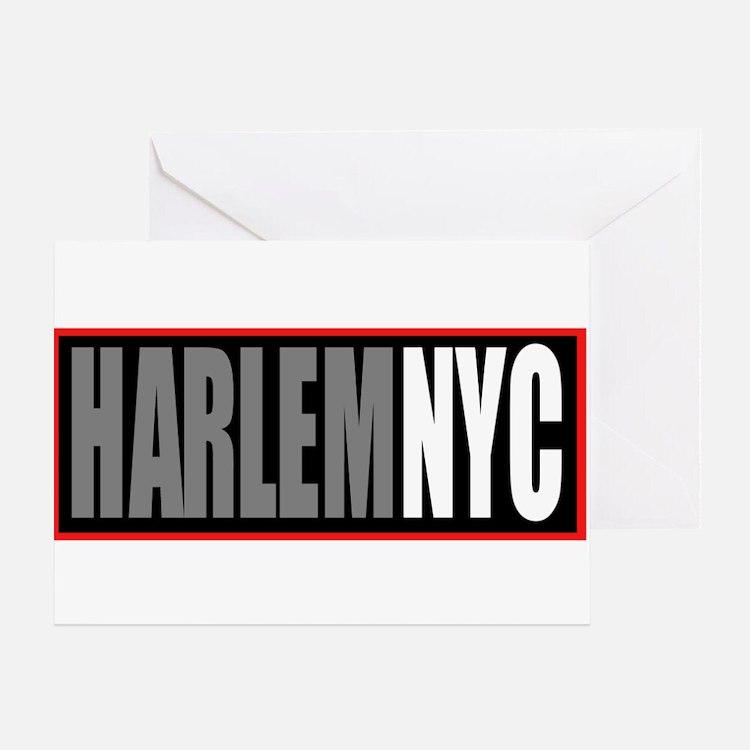 Cute Harlem Greeting Card