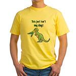 BAD DAY Yellow T-Shirt