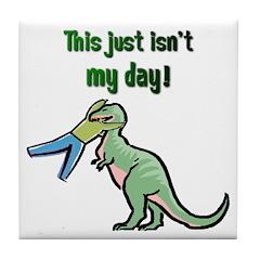 BAD DAY Tile Coaster