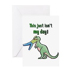 BAD DAY Greeting Card