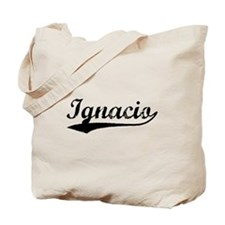 Vintage Ignacio (Black) Tote Bag
