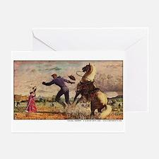 Cowboy Serenade Greeting Cards (Pk of 10)