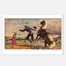Cowboy Serenade Postcards (Package of 8)