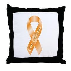 Leukemia Throw Pillow