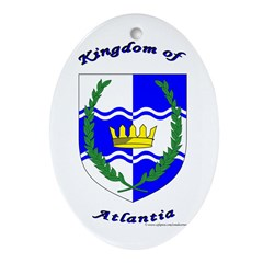 Atlantia Oval Ornament
