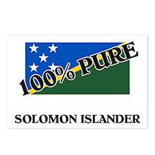 100 Percent SOLOMON ISLANDER Postcards (Package of
