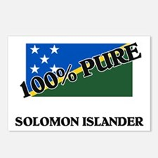 100 Percent SOLOMON ISLANDER Postcards (Package of