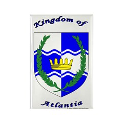 Kingdom of Atlantia Rectangle Magnet (10 pack)