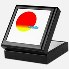 Unique Joelle Keepsake Box