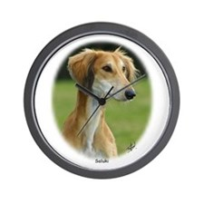 Saluki Wall Clock