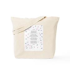 Tiny Prints Tote Bag