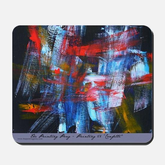 "Painting 56 ""Confetti"" Mousepad"