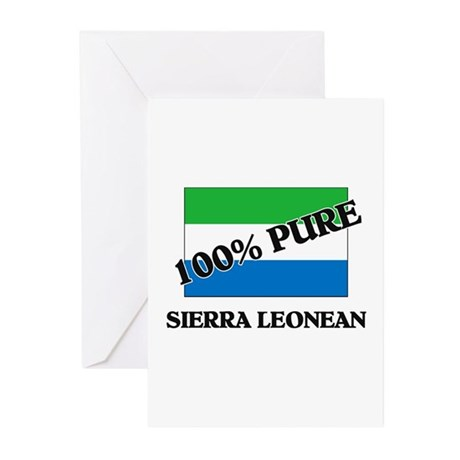 100 Percent SIERRA LEONEAN Greeting Cards (Pk of 1