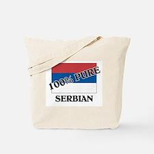 100 Percent SERBIAN Tote Bag