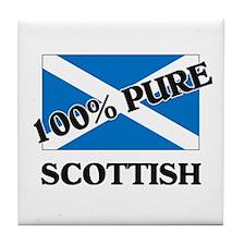 100 Percent SCOTTISH Tile Coaster
