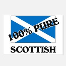 100 Percent SCOTTISH Postcards (Package of 8)