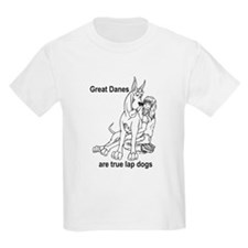 C Lapdog Great Dane Kids T-Shirt