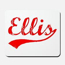 Vintage Ellis (Red) Mousepad