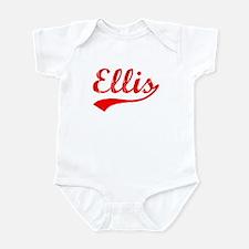 Vintage Ellis (Red) Infant Bodysuit