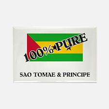 100 Percent SAO TOMAE & PRINCIPE Rectangle Magnet