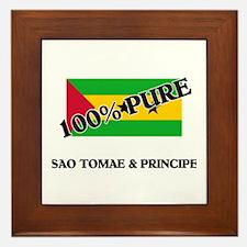 100 Percent SAO TOMAE & PRINCIPE Framed Tile