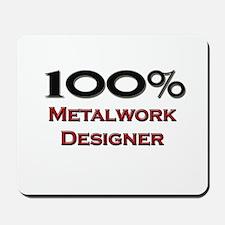 100 Percent Metalwork Designer Mousepad
