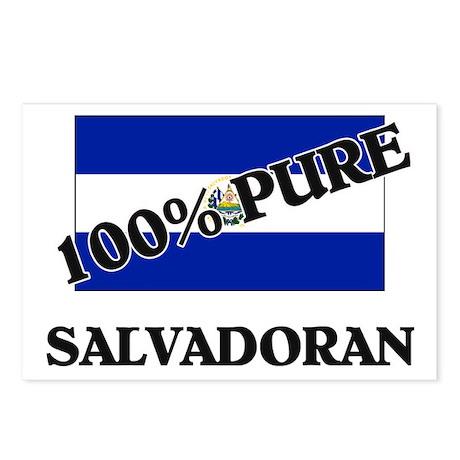 100 Percent SALVADORAN Postcards (Package of 8)