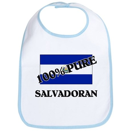 100 Percent SALVADORAN Bib