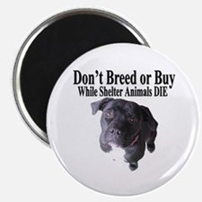 """""""Updated"""" Don't Breed or Buy Magnet"""