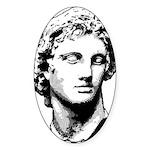 MACEDONIA Oval Sticker (10 pk)