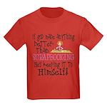 Anything Better Than Scrapbookin Kids Dark T-Shirt
