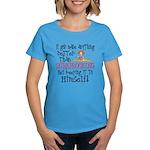Anything Better Than Scrapboo Women's Dark T-Shirt