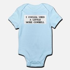 I Coulda Used More Cowbell Infant Creeper
