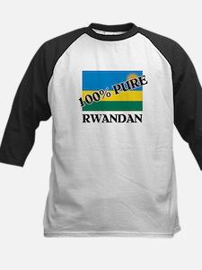 100 Percent RWANDAN Kids Baseball Jersey