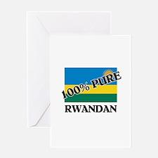 100 Percent RWANDAN Greeting Card