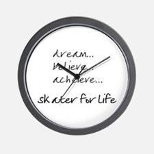 Cute Skater Wall Clock