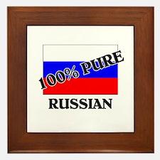 100 Percent RUSSIAN Framed Tile