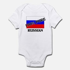100 Percent RUSSIAN Infant Bodysuit