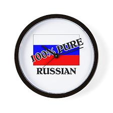 100 Percent RUSSIAN Wall Clock