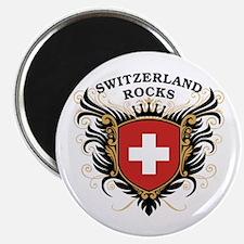 Switzerland Rocks Magnet
