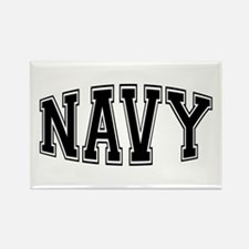 Navy Rectangle Magnet