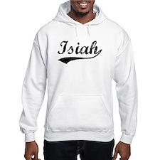 Vintage Isiah (Black) Hoodie